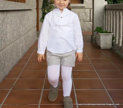 blusa infantil caftán