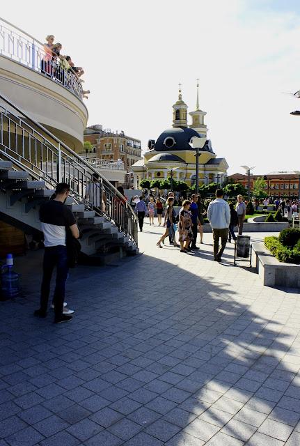 Новая обзорная площадка на Почтовой площади