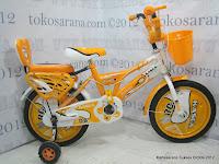 1 Sepeda Anak Kasea 0916 Sport 08 16 Inci