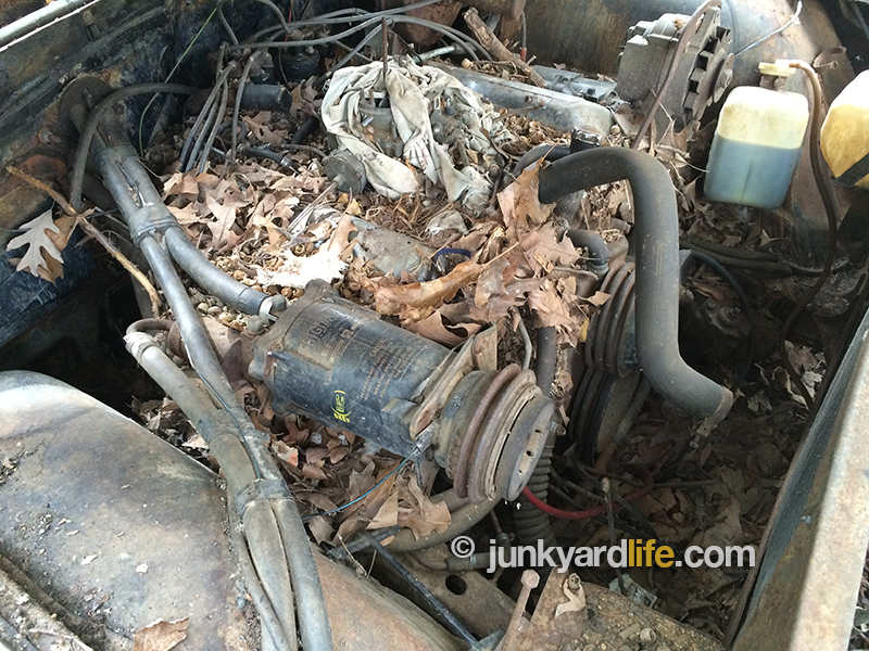Chevy 409 Air Cleaner : Junkyard life classic cars muscle barn finds hot