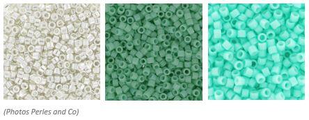 comment marier les couleurs de ses perles miyuki delicas 11/0 pour un tissage peyote