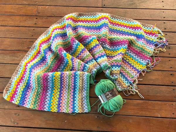 CROCHET: Friday Night Rainbow Stripes