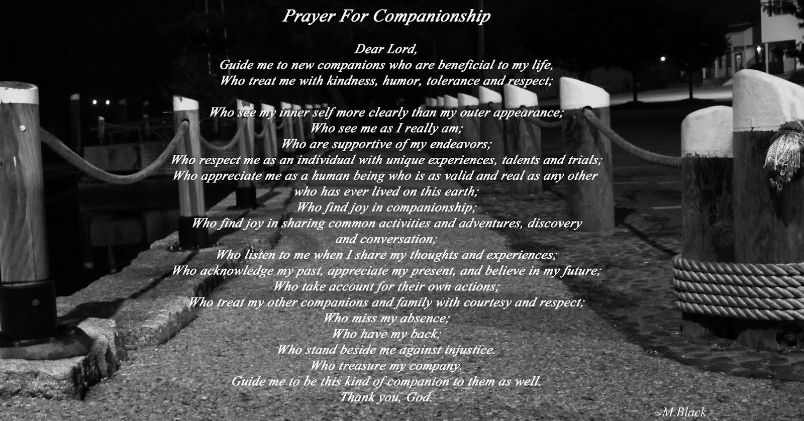 little gidding prayer for companionship