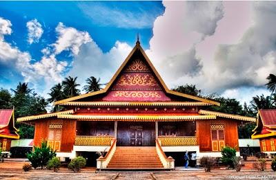Desain Asli Rumah Adat Riau