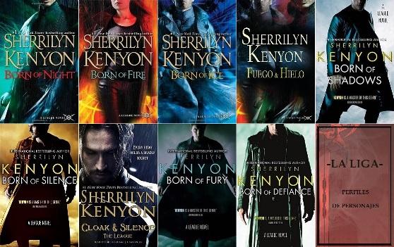 sherrilyn kenyon libros
