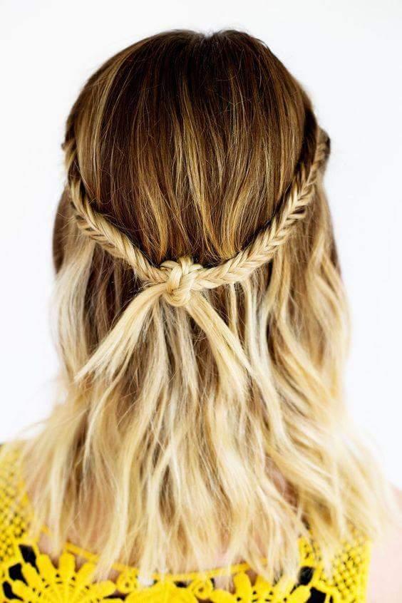 Trenzas para pelo corto Fotos de los mejores estilismos (Foto) Ella
