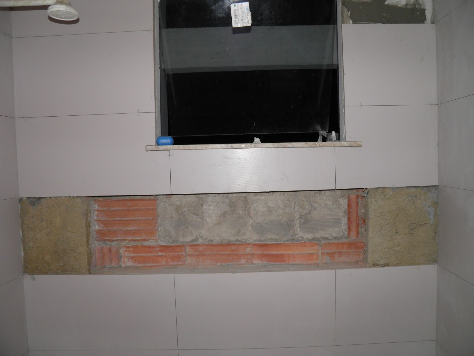 Construindo um Castelinho Como fazer nichos de banheiro -> Fazer Nicho Banheiro