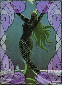 Deusa dos Mares e Oceanos Yemanjá