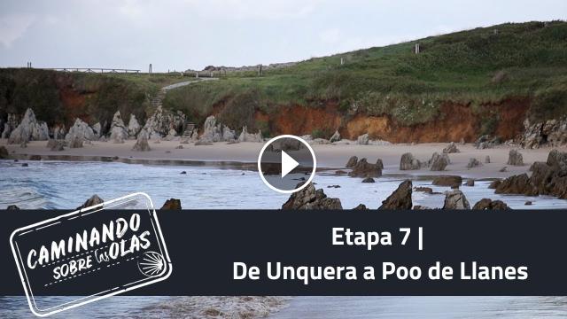 Etapa 7 De Unquera a Poo de Llanes Caminando sobre las olas