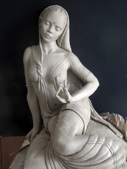 Marie-Paule Deville-Chabrolle 1952   French painter and sculptress    Masterpieces   Tutt'Art@