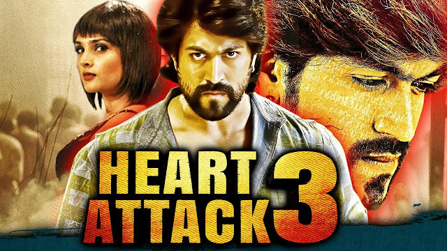 Heart Attack 3 2018 Hindi Dubbed Movie Download 720p