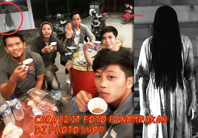 Cara edit foto penampakan hantu di photoshop Cara Edit Foto Penampakan Hantu Di Photoshop