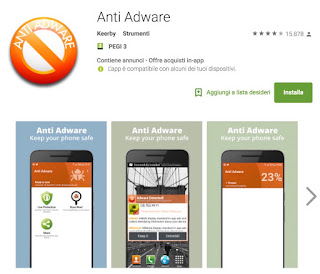 Virus Opt Out: App Anti Adware per Android
