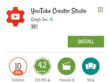 Cara Memonetisasi Video YouTube Lewat HP Android