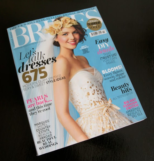 A little bit of advertising in Brides magazine
