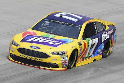 Ricky Stenhouse Jr led 24 laps #MENCS #NASCAR