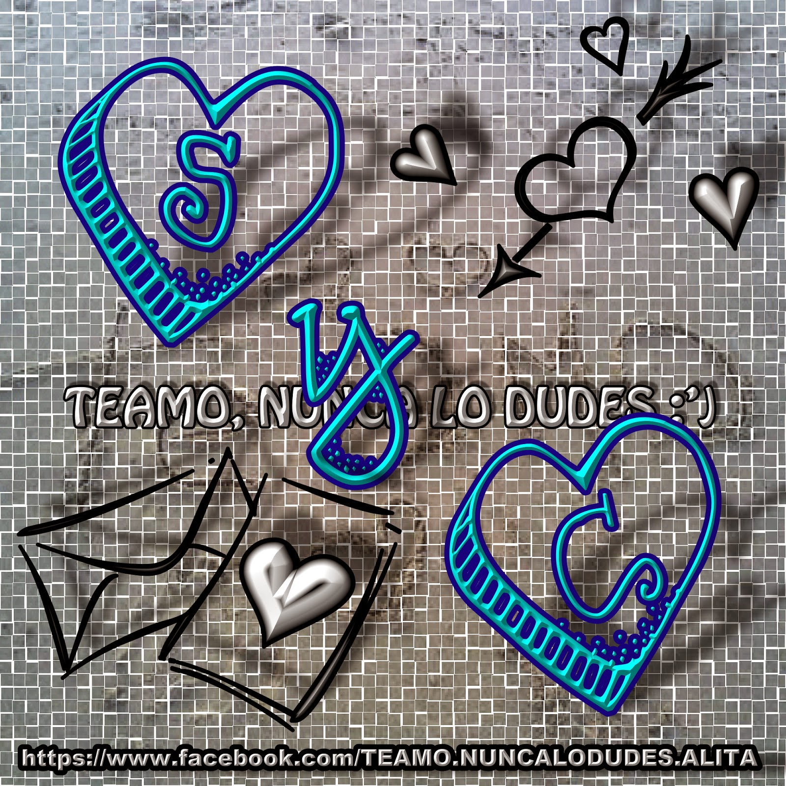Te Amo, Nunca Lo Dudes: Iniciales De Las Letras S Con Las
