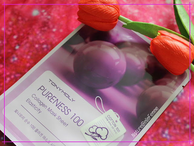 Tonymoly pureness 100 sheet mask Collagen