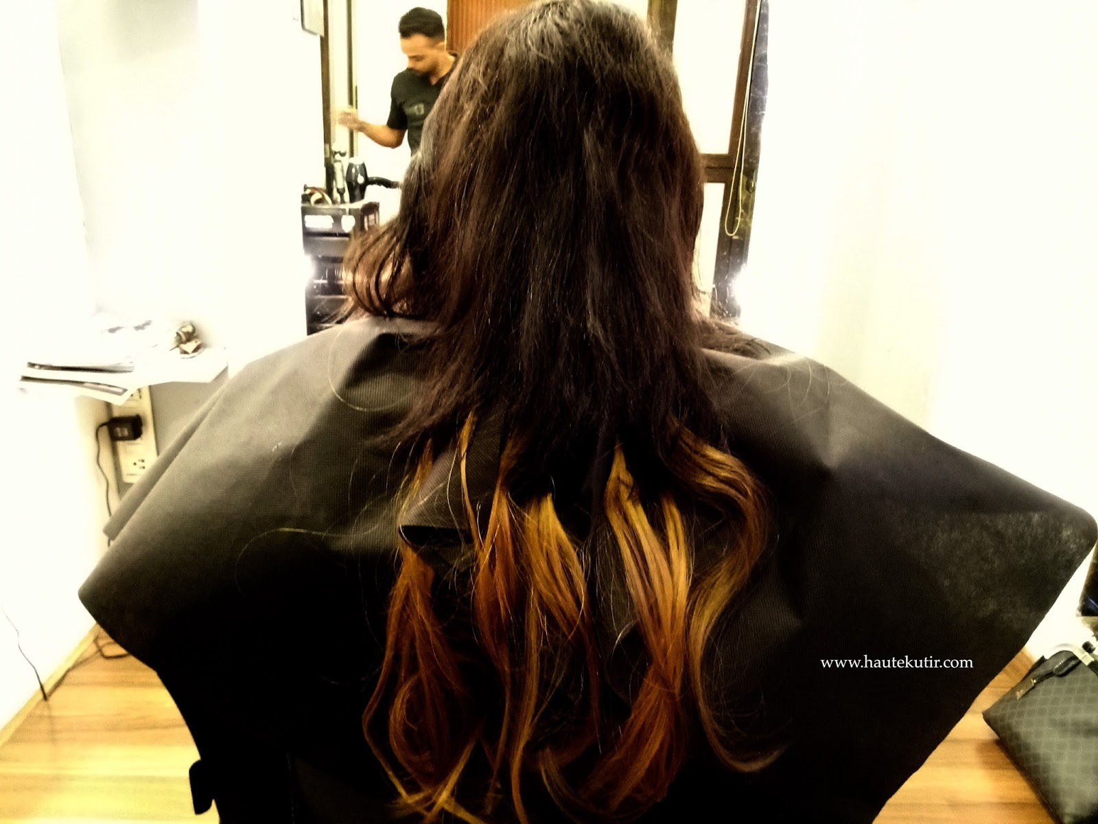 Style your hair with flashpoint extension haute kutir since the number of strands was less the process got completed soon they parted my hair and clipped the strands this is how it looked like pmusecretfo Gallery
