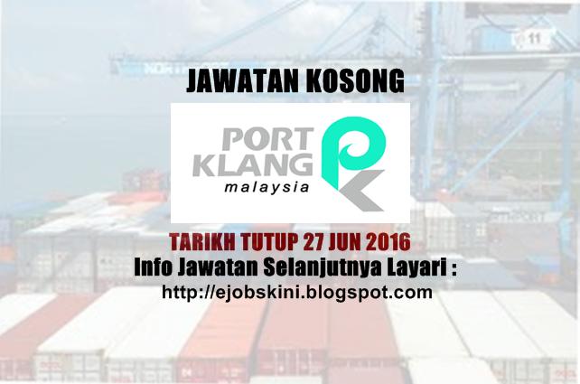 Jawatan Kosong Lembaga Pelabuhan Kelang (PKA)