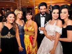 بالصور … حفل زفاف حنان مطاوع على المخرج أمير اليمانى وسط كوكبة من نجوم الفن