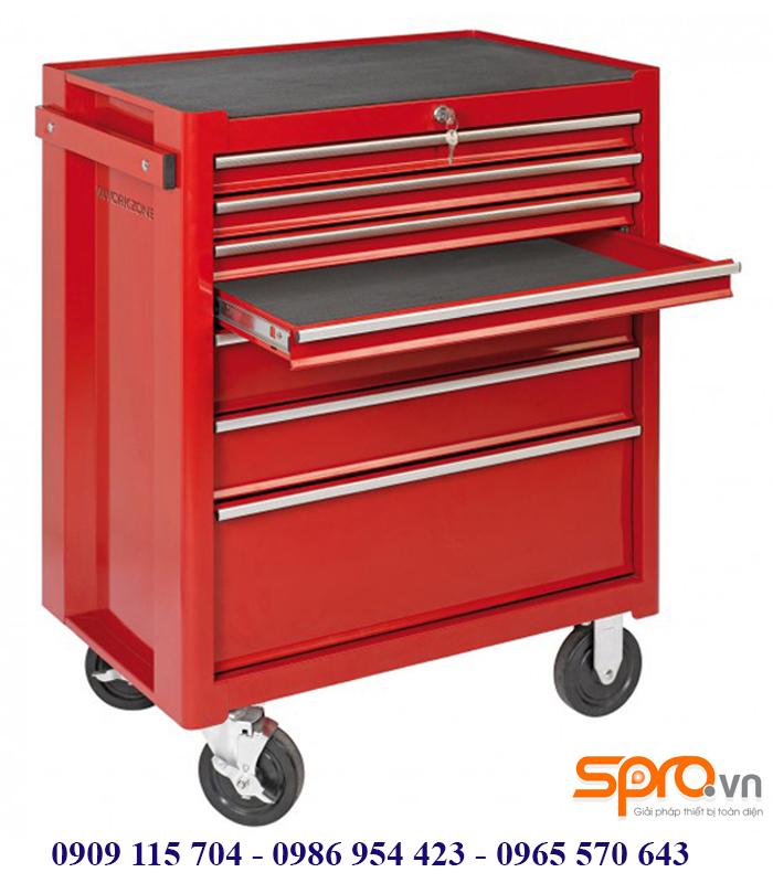 Giá bán tủ đựng đồ nghề sửa xe honda có khóa, bánh xe kéo