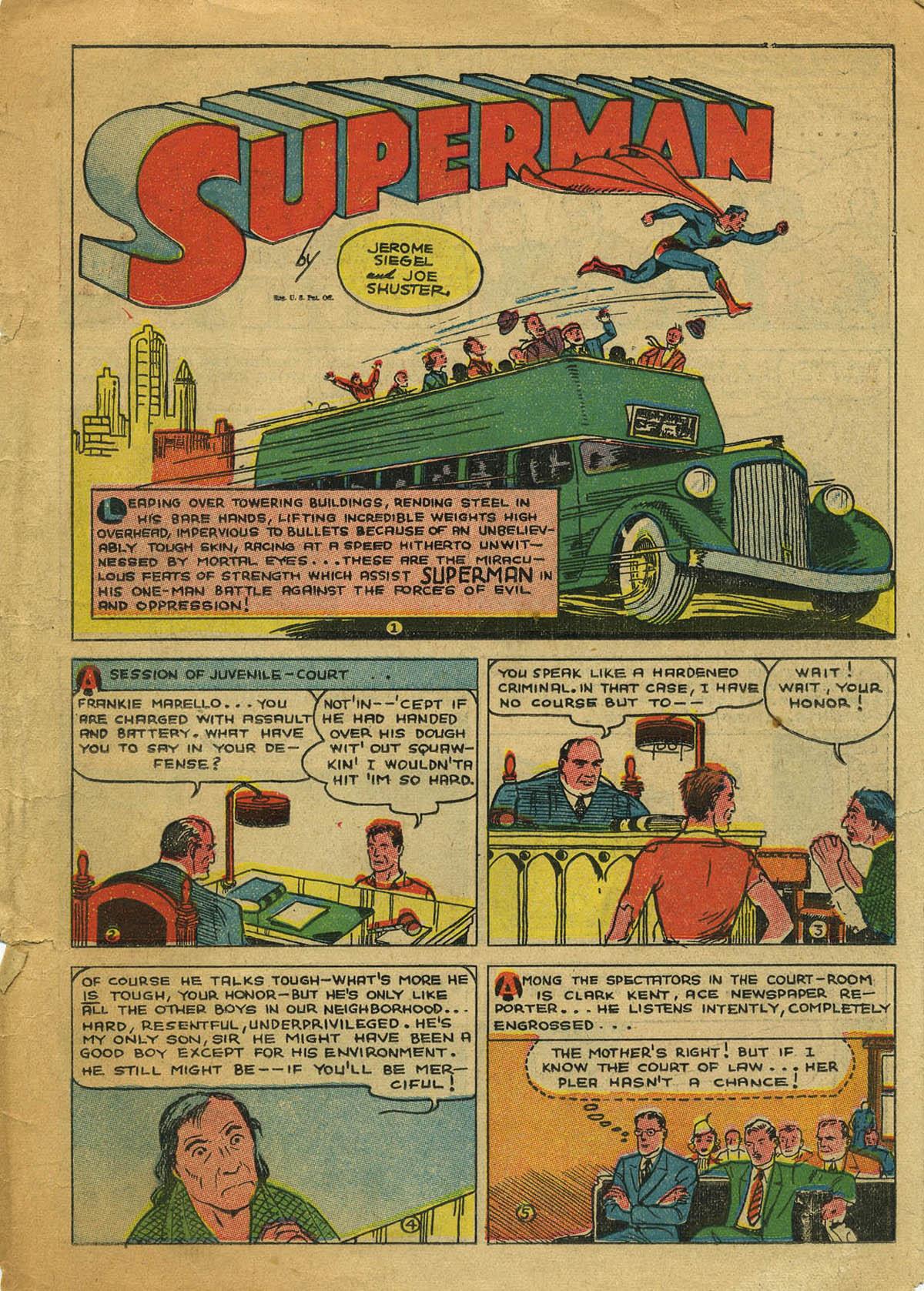 Action Comics (1938) 8 Page 2