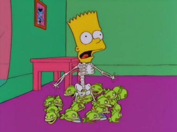 The Simpsons - Season 10 Episode 04: Treehouse of Horror IX