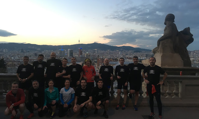 Entreno Salomon Run Barcelona