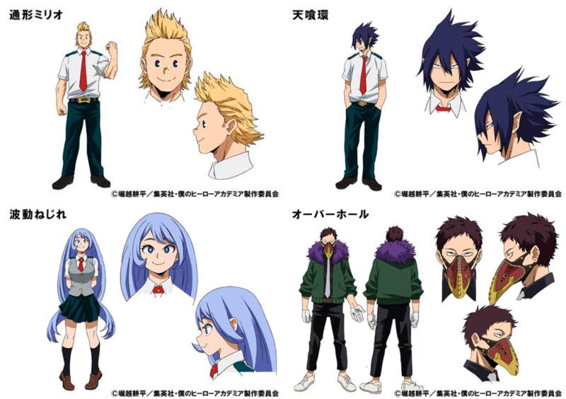 My Hero Academia (Boku no Hero Academia) personajes
