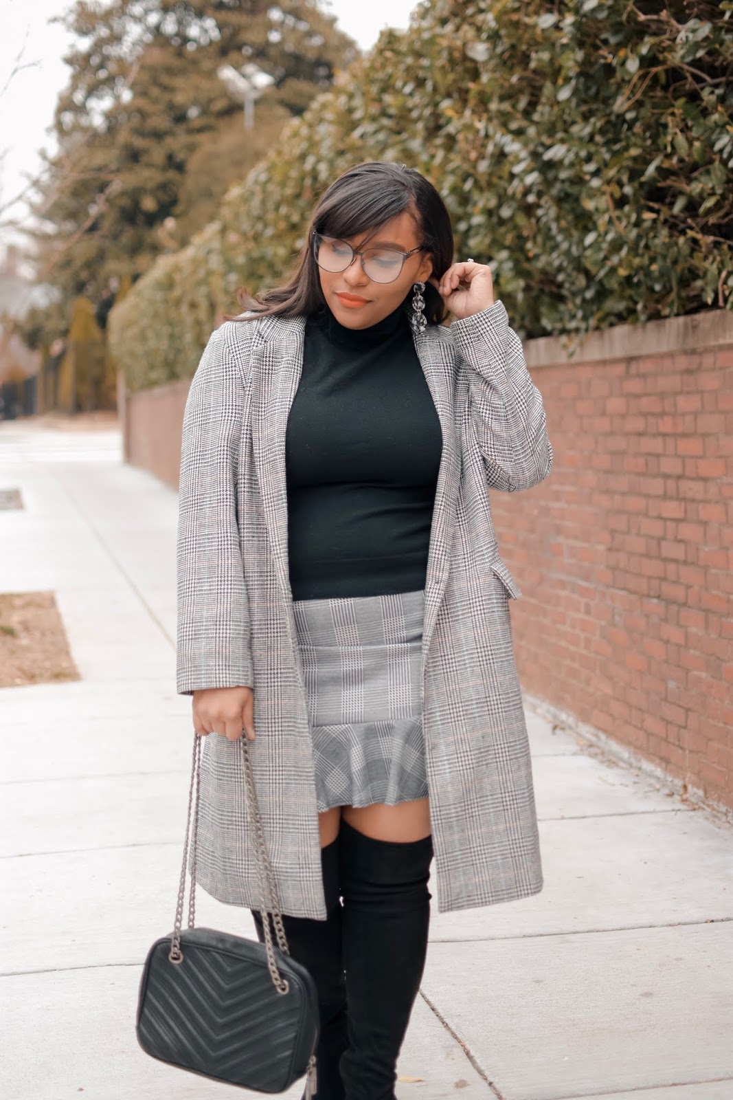 mom bloggers, dc bloggers, winter outfits, otk boots, wide calf boots, fall outfit ideas