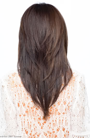 Fabulous Long V Layered Haircut Back View 2015 New Hair Style Short Hairstyles For Black Women Fulllsitofus