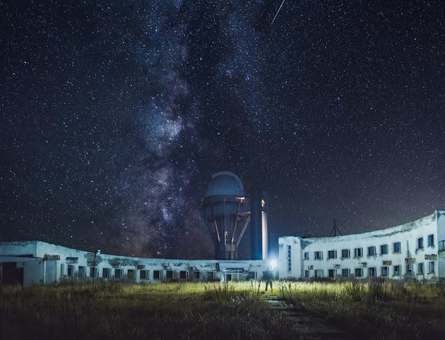 Съёмка и обработка звёздного неба