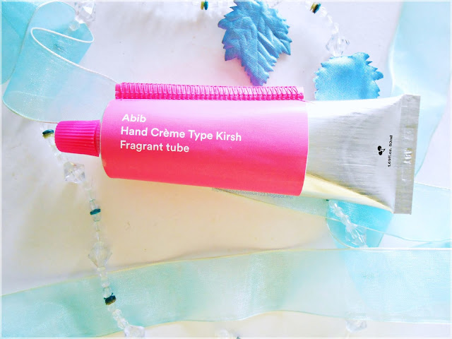 ABIB Hand Cream Type Kirsh Fragrant tube