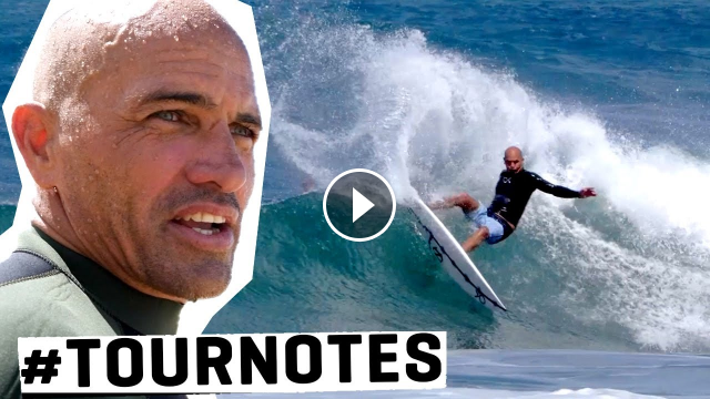 KELLY SLATER Preps For His 30th YEAR ON TOUR TOURNOTES
