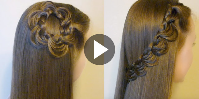 How To Make 2 Easy Melting Braid Hairstyle, See Tutorial