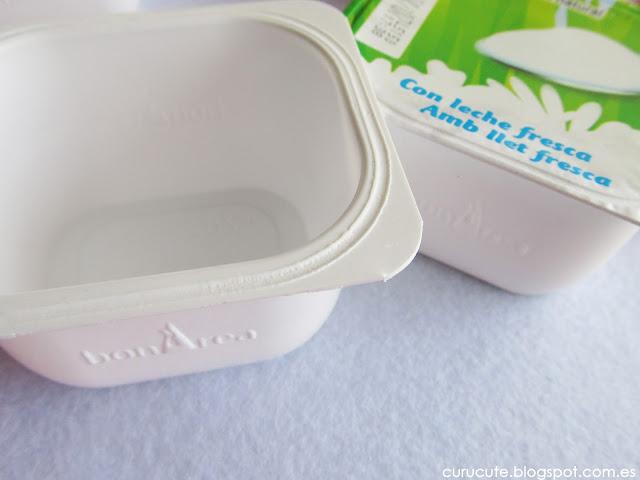 Reciclar vasos de yogur