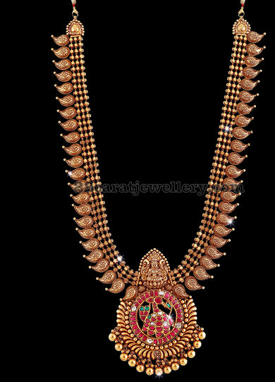 Antique Work Mango Mala by Krishna Jewellery