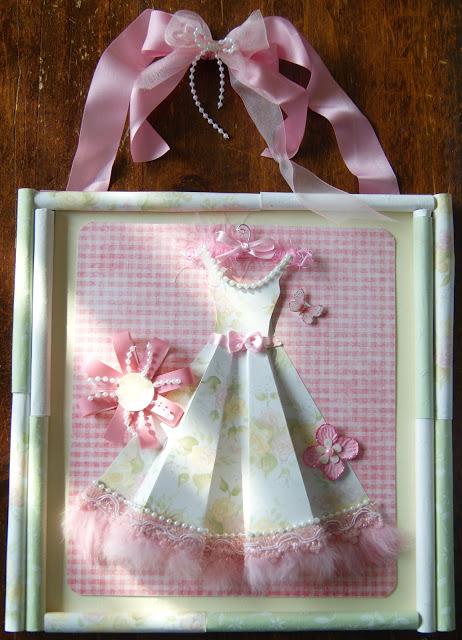 pretty paper dress