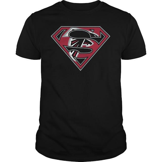 Atlanta Falcons Superman Logo Shirt