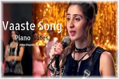 Vaaste Lyrics | Dhvani Bhanushali