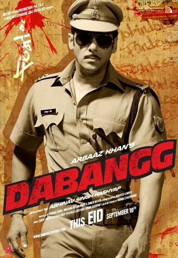 Dabangg 2010 Hindi 480p BluRay 350MB