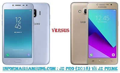 Harga dan Spesifikasi Samsung Galaxy J2 Pro (2018) vs J2 Prime