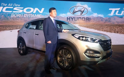 The all new Hyundai Tucson SUV wallpaper
