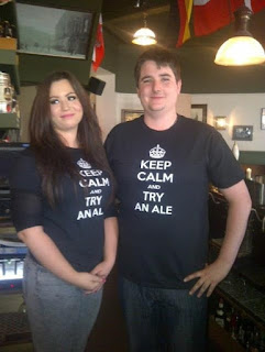 keep calm and try anal beer festival bar staff