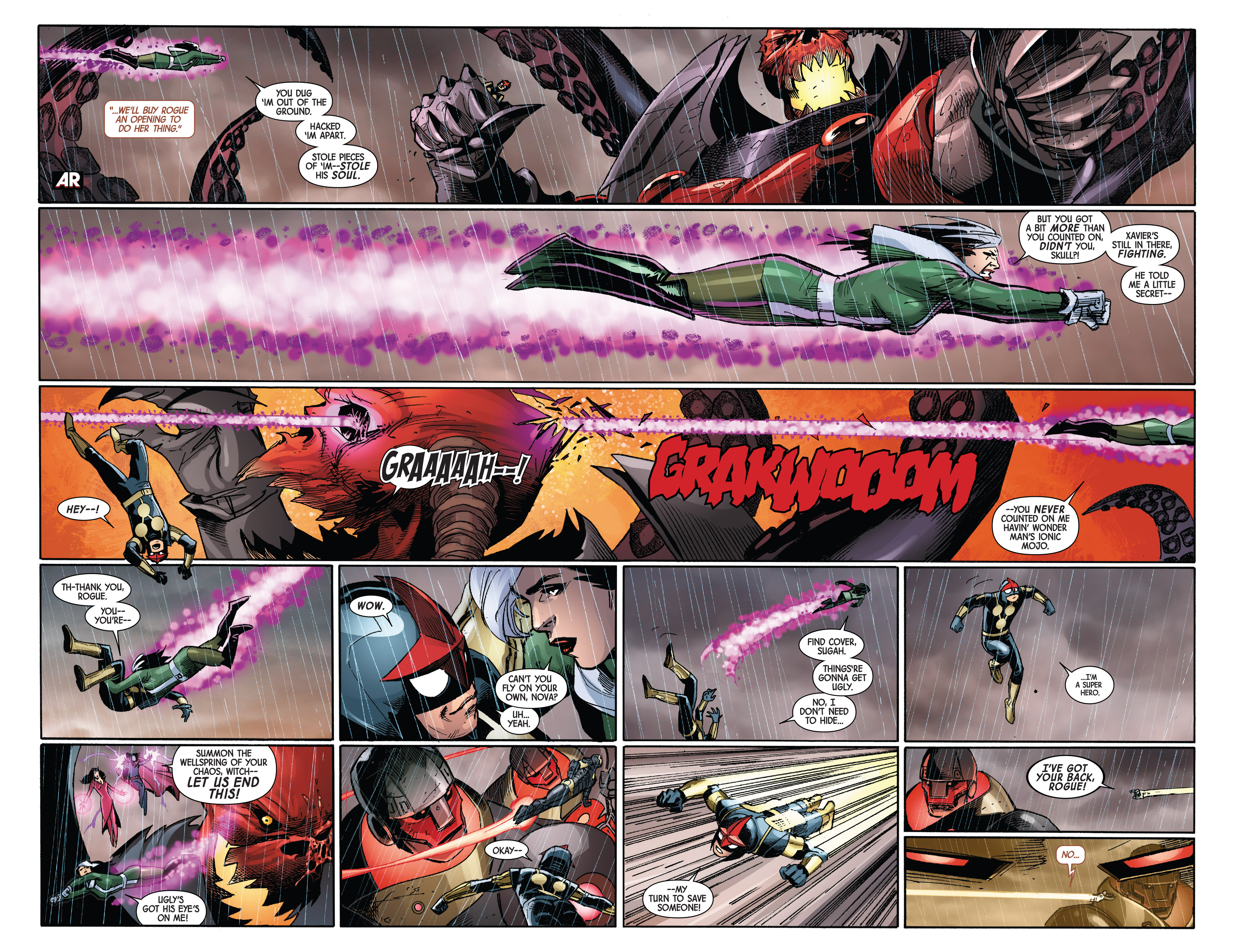 Read online Avengers & X-Men: AXIS comic -  Issue #2 - 11