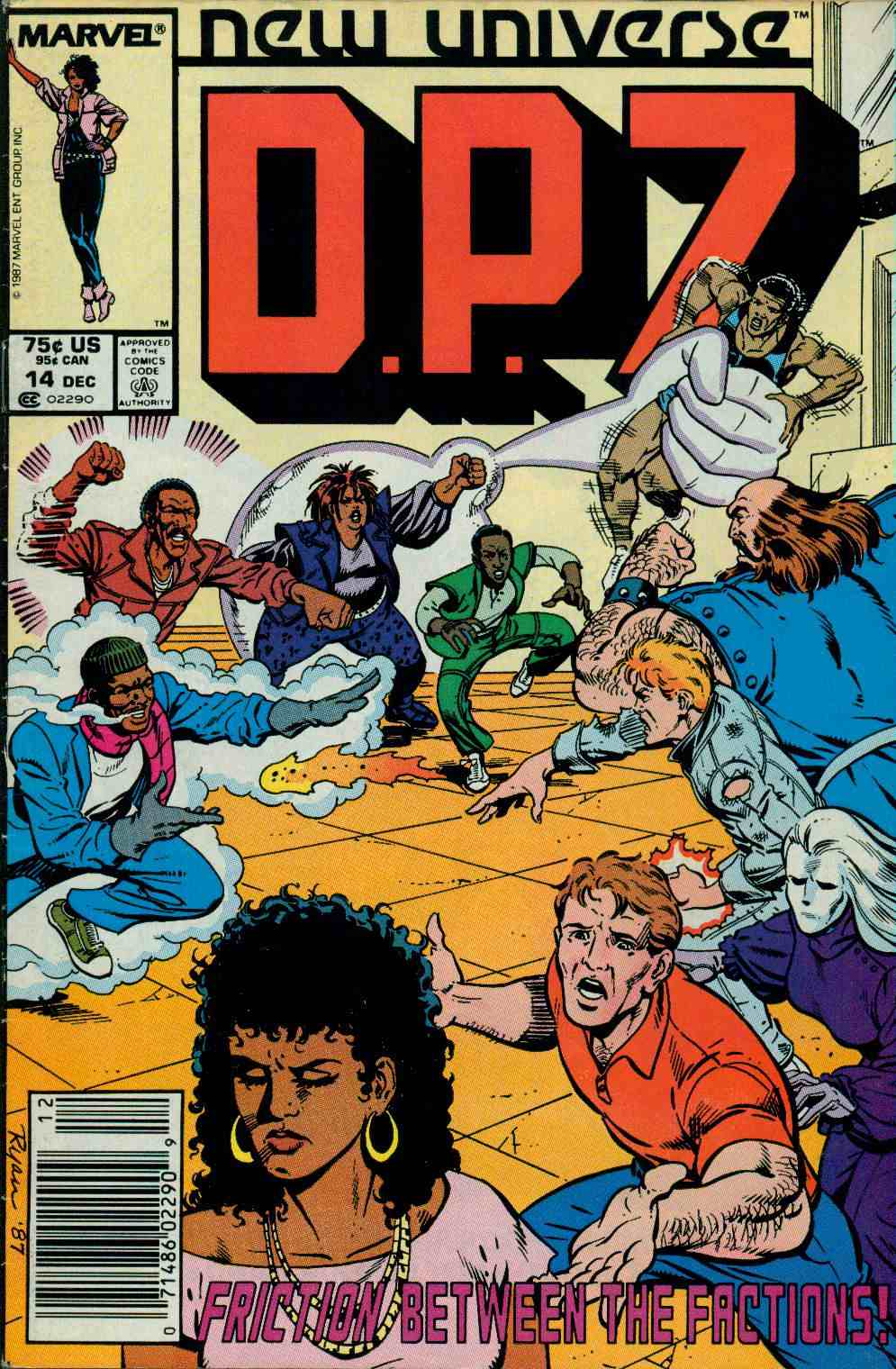 Read online DP7 comic -  Issue #14 - 1