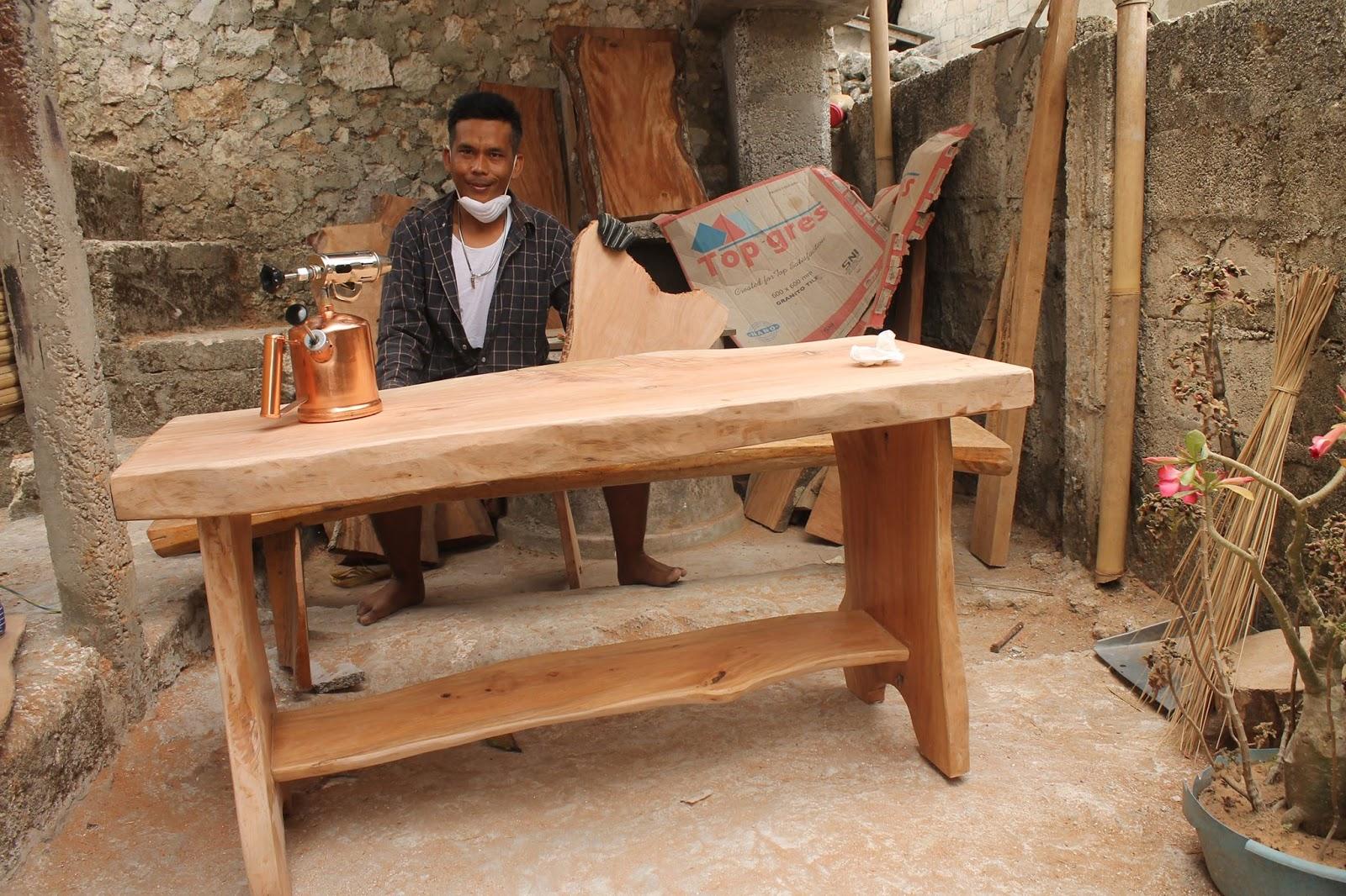 Limbah Kayu Jadi Furniture Antik Wak Laba