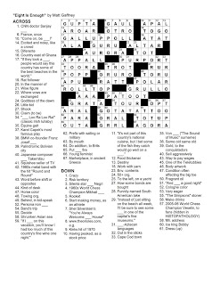 Matt Gaffney's Weekly Crossword Contest: April 2011