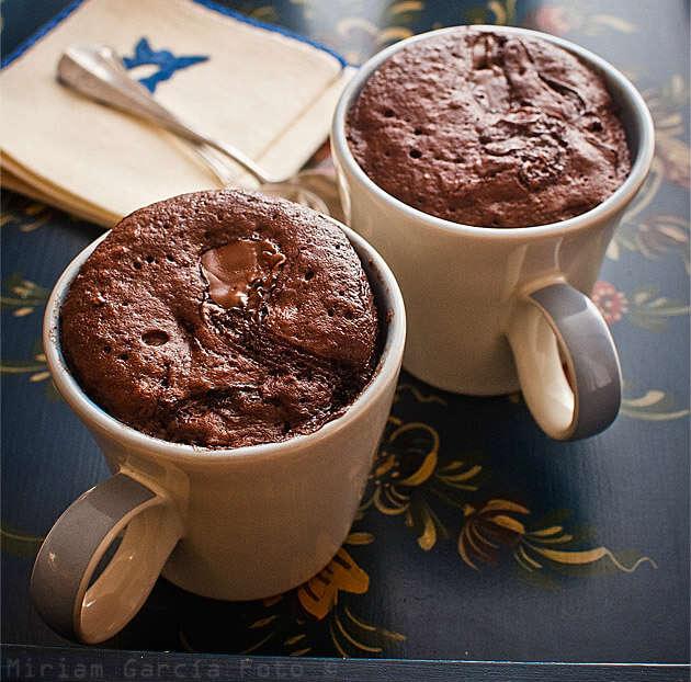receta de mug cake